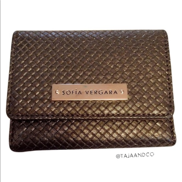 Enjoyable Sofia Vergara Branded Slim Wallet Machost Co Dining Chair Design Ideas Machostcouk